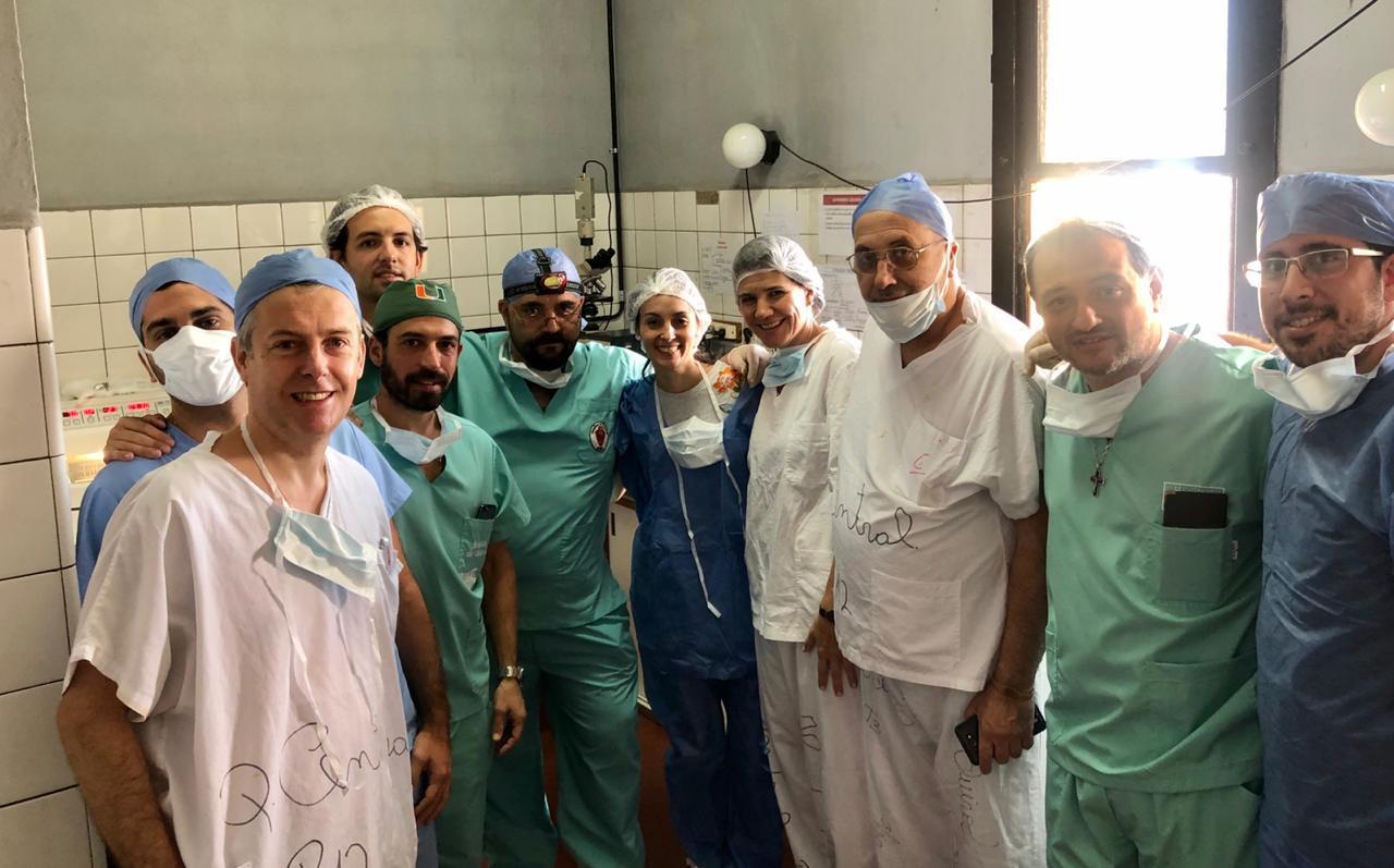 Primera cirugía de Mohs en el Clínicas