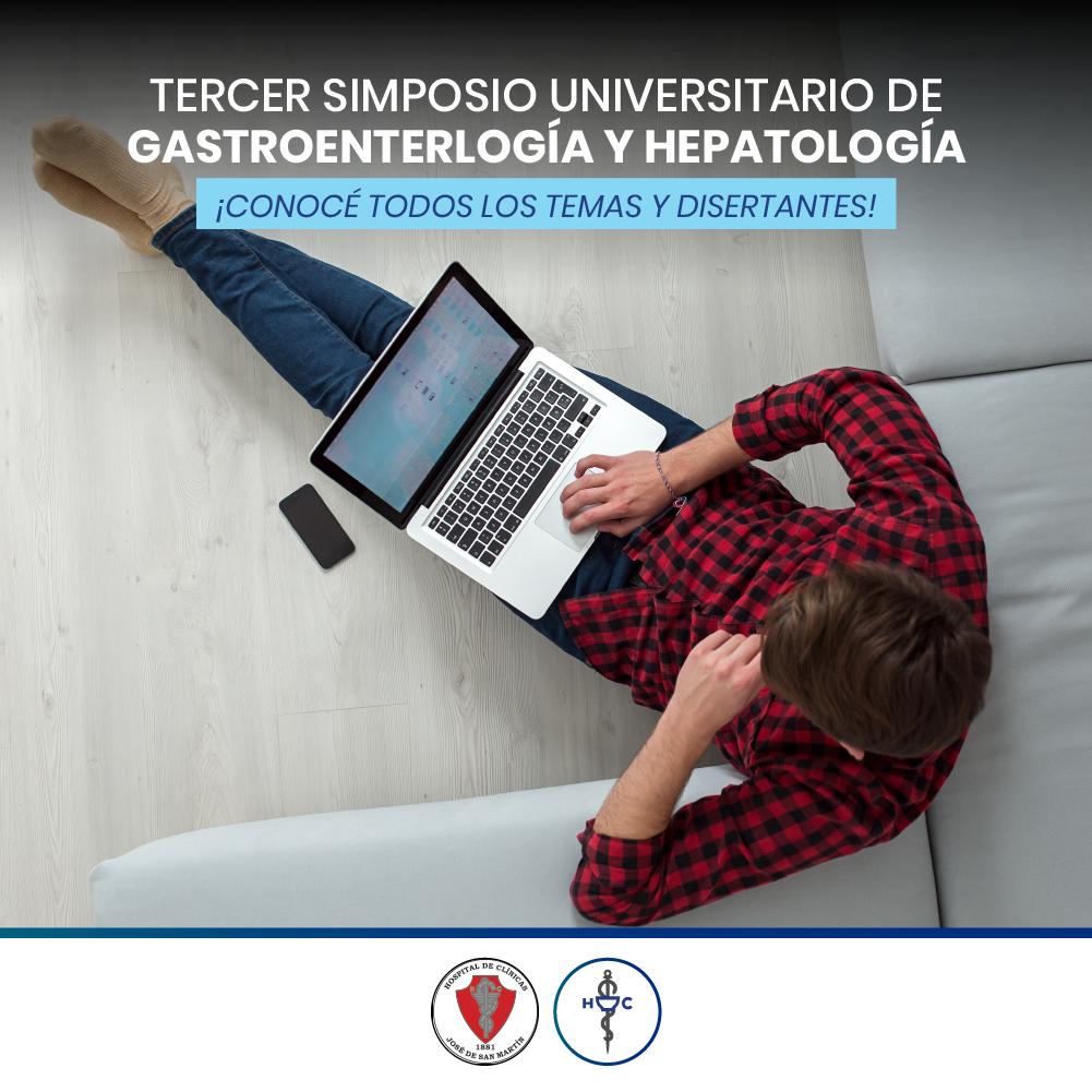 Tercer Simposio de Gastroenterología y Hepatología